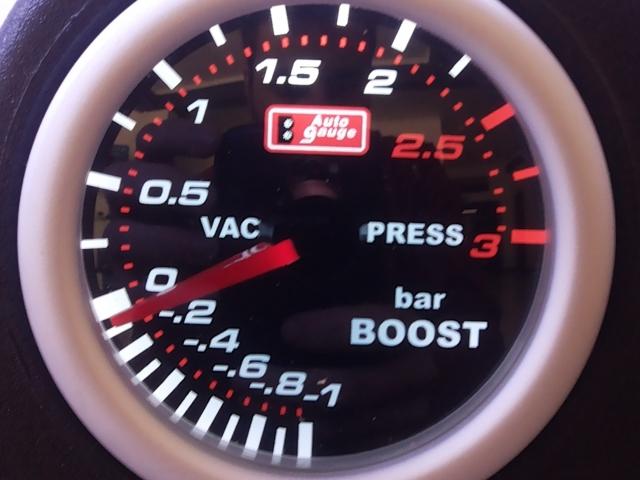 Manómetro Pressão Turbo 3Bar - Auto Gauge