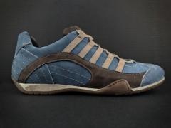 Sapatos Gulf Grand Prix Azuis Couro