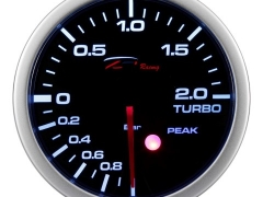 Manómetro Pressão Turbo 2Bar - Depo Racing c/pico