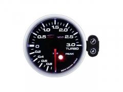 Manómetro Pressão Turbo 3Bar - Depo Racing c/pico