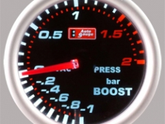 Manómetro Pressão Turbo 2Bar - Auto Gauge