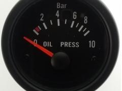 Manómetro Elétrico de Pressão Óleo Auto Gauge 10 BAR