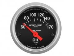 Manómetro Temperatura Óleo Autometer 52mm