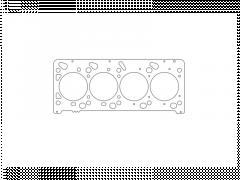 Junta de cabeça Athena FORD 2.0 16V ZETEC 86.2x1.3mm