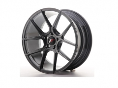 Japan Racing JR30 19x8,5/9,5 Hyper Black/Prata