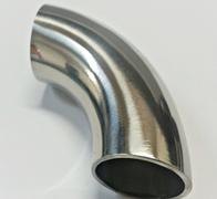 Curva 90 º de 54mm em Inox, Espessura- 2mm