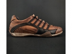 Sapatos Gulf Grand Prix Castanhos Couro