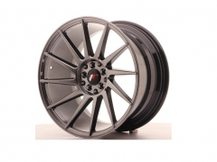 Japan Racing JR22 18x7,5/8,5/9,5 Hyper Black/Preto/Prata