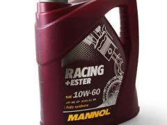 Óleo de motor Mannol Racing Ester 10W60 4L