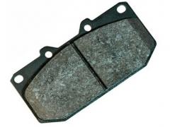 Pastilhas de Travão Black Diamond para Toyota Corolla AE86 Frente