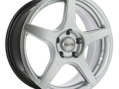 Butzi Iron Shiny Silver 16X7