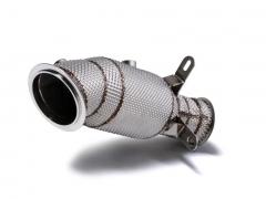 Decat Downpipe BMW F20 M135i / M235i / F87 M2 / 335i /435i (Revestimento térmico)