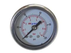 Manômetro Para Regulador de Pressão Combustível Sytec