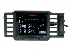 "Display 2.8"" (71mm) CANchecked MFD28 - VW Golf Mk4 (Facelift)"