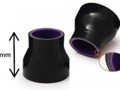 Redução Recta Silicone 70-76mm