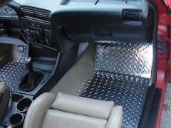 Tapetes em Alumínio para BMW E30