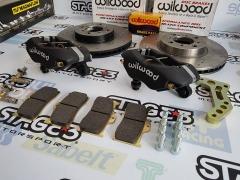Kit Travagem Wilwood 4pistons Toyota AE86 - 275mm