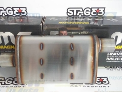 Panela Escape Indirecta Magnaflow 57MM (2,25'')