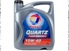Óleo de Motor Sintético TOTAL Quartz 7000 10W40 5L