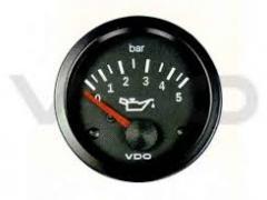 Manómetro Pressão Óleo VDO 0-5 BAR