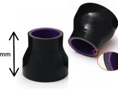 Redução Recta Silicone 51-76mm