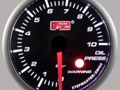 Manómetro de Pressão Óleo Auto Gauge 10 BAR