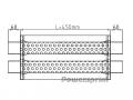 "Panela Dupla Entrada/Saída 60mm (2.35"") Powersprint"